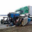 Фура смяла трактор в Толочинском районе: его водитель погиб