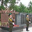 В Полоцке на месте массовых захоронений в годы войны открыли мемориальный комплекс «Урочище Пески»