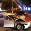Пьяный бесправник на LADA врезался в мотоцикл в Минске: есть пострадавшие