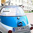 Легендарная миниатюрная BMW Isetta – на дорогах Минска
