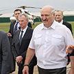 Лукашенко посетил предприятие «БелВитунифарм»