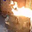 В Англии мужчина поджег синагогу и оказался в огне (ВИДЕО)