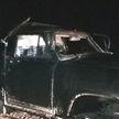 ДТП в Лунинецком районе: бесправник на самодельном автомобиле съехал в кювет