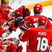 Сборная Беларуси по хоккею готовится к матчу с командой Казахстана