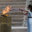 Олимпийский огонь передали Токио. Церемония прошла без зрителей