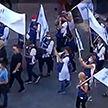 Протесты в Варшаве: медработники добиваются улучшения условий труда, дополнительных отпусков и достойной заработной платы