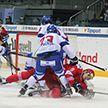 Сборная Беларуси по хоккею на турнире в Словакии уступила хозяевам льда по буллитам