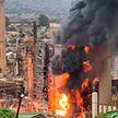 Взрыв прогремел на нефтеперерабатывающем заводе в южноафриканском Дурбане
