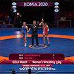 Белоруска Ванесса Колодинская стала чемпионкой Европы по борьбе