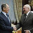 Президент Беларуси провел встречу с министром иностранных дел России