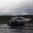 Со дна озера на Камчатке подняли вертолет, в котором летели туристы