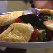 Жареный сулугуни и грузинский салат готовила много раз – это любовь! И вот что дает характерный вкус!