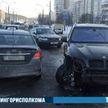 ДТП на улице Гинтовта в Минске: столкнулись четыре автомобиля