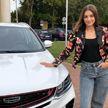 Фотофакт: «Мисс Беларусь» вручили новенький автомобиль