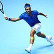 Роджер Федерер обыграл Доминика Тима в матче итогового турнира ATP
