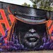 «Кто ты?»: граффити в память о Децле появилось в Перми