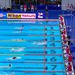 Олимпийскую лицензию завоевали белорусские пловцы