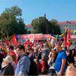 Протесты в Литве закончились жесткими задержаниями