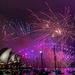 Как встретили Новый 2019 год в разных странах (ВИДЕО)