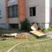 Мать с трёхмесячным младенцем спасли на пожаре в Пружанах