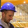 В Миорах на строительстве металлопрокатного завода завершается монтаж основного оборудования