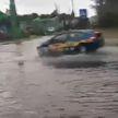 Небывалый ливень за считанные минуты затопил Брест