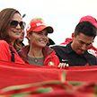 Автопробег в поддержку мира и стабильности в Беларуси собрал тысячи участников