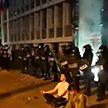 В Словении и Швейцарии полиция применила водометы при разгоне антиковидных протестов