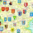 Создана скретч-карта Беларуси