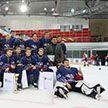 Команда «Грифоны» выиграла городские соревнования по хоккею «Золотая шайба»