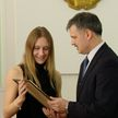 Белорусских легкоатлетов наградили в Министерстве спорта и туризма