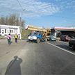 Автовышка в Витебске сбила пешехода