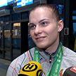 Сборная Беларуси по тяжёлой атлетике вернулась с чемпионата мира с тремя медалями