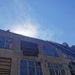 В Минске горела крыша мебельной фабрики на ул. Кальварийской