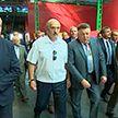 Рабочая поездка Президента в Гомельскую область: Главе государства показали новую детскую больницу и суперкомбайн