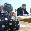 Инспектор по Витебской области решал вопросы жителей Сенненского района
