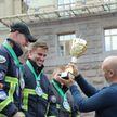 В Киеве белорусы победили на соревнованиях «Сильнейший пожарный спасатель»