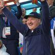 Лукашенко приехал на гребной канал в Заславле поболеть за белорусских спортсменов на II Европейских играх