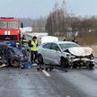 Мужчина погиб в ДТП с участием трех автомобилей в Лиозненском районе