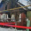 Пожар в Борисове: четыре человека погибли