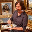 Художник Никас Сафронов порезал палец и заработал 320 тысяч долларов