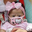 Почему защитные маски опасны для маленьких детей, объяснили врачи