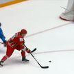 Национальная сборная Беларуси по хоккею одержала победу в товарищеском матче с командой Казахстана