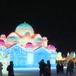 Международный фестиваль скульптур из снега и льда проходит в Китае