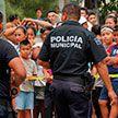 Неизвестные расстреляли толпу на детском празднике в Мехико