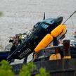 Вертолёт упал в реку Гудзон в Нью-Йорке