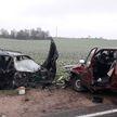 «Пассат» против «Гольфа»: два Volkswagen столкнулись под Волковыском