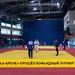 Командный турнир по дзюдо прошел на «Чижовка-арене»