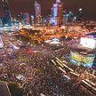 Фотофакт: в Польше проходит масштабный протестный марш «На Варшаву»