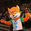 Лисёнок Лесик стал талисманом II Европейских игр